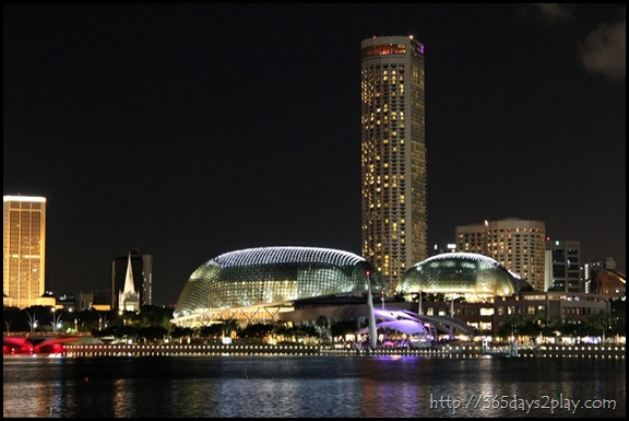 Esplanade and the Swissotel