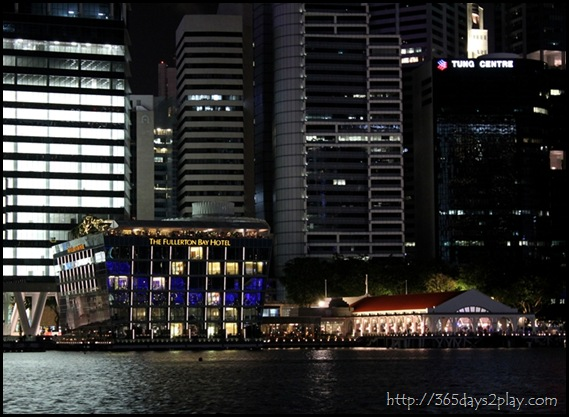 Fullerton Bay Hotel at Night