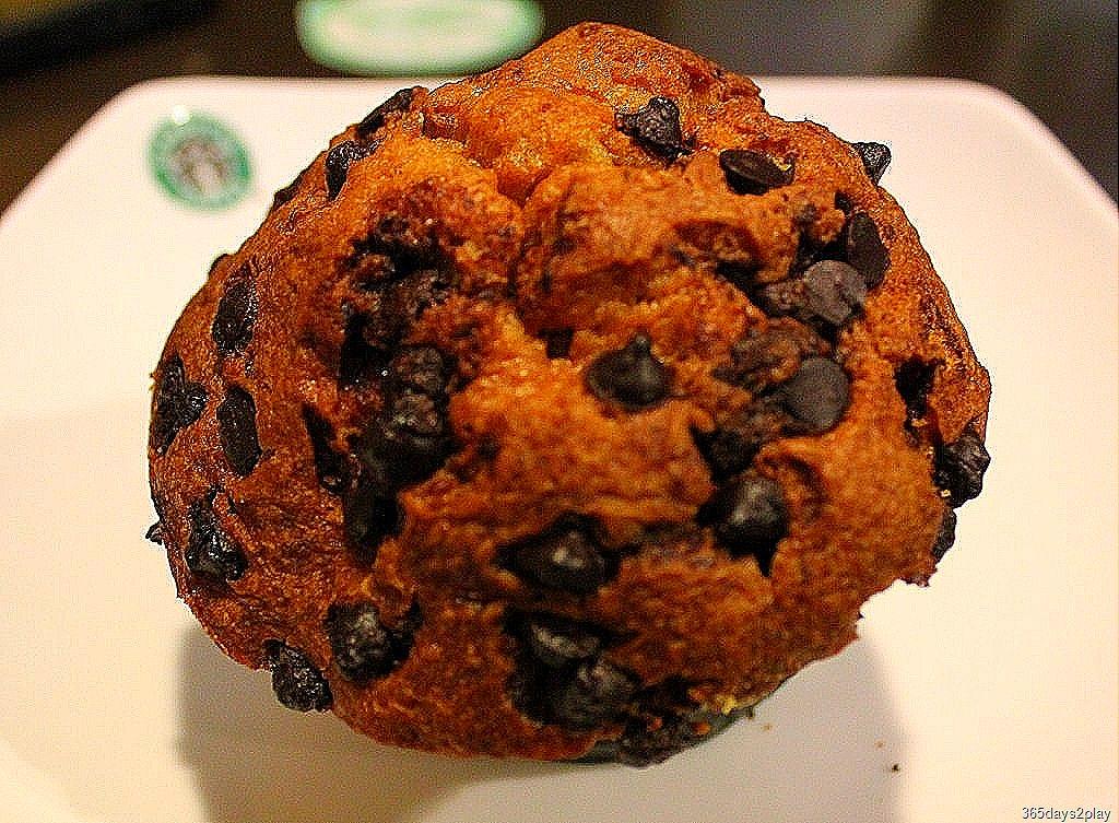 Coffee Bean Chocolate Chip Muffin Calories
