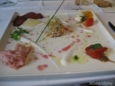Oso Ristorante Appetiser Sampling Plate