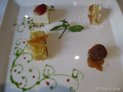 Oso Ristorante Dessert Sampling Platter