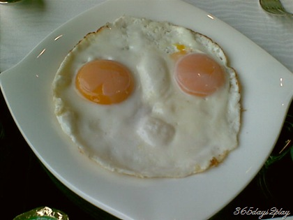 Fried Egg face