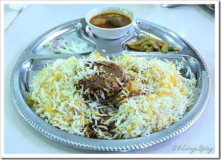 Nasi Beriyani with mutton
