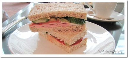 HotelIntercontinental made to order sandwiches