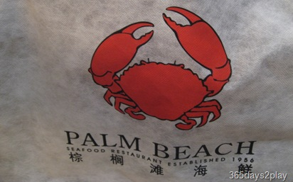 PalmBeach Bib with cute crab logo