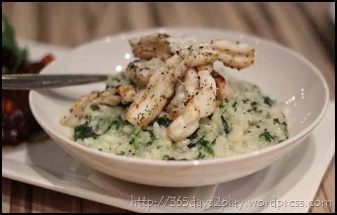 Cafe Epicurious - Grilled Seafood Risotto