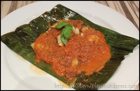 Cafe Epicurious - Red Snapper in Banana Leaf