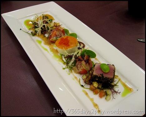 Chef Daniel's Kitchen - Hors D'oeuvre Trio