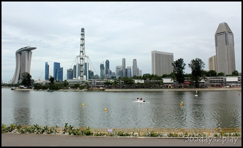 Marina Reservoir Backdrop