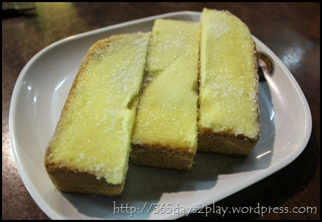 Old Town White Coffee - Butter Sugar Thick Toast
