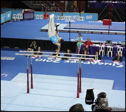 YOG Gym Indiv Apparatus Finals - Parallel Bars