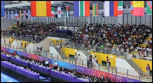 YOG Gym Indiv Apparatus Finals - Spectator Stands