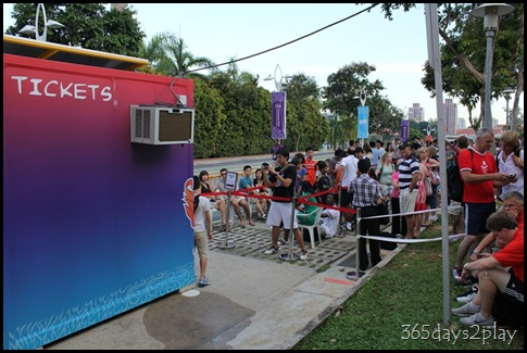 YOG Gymnastics Queue