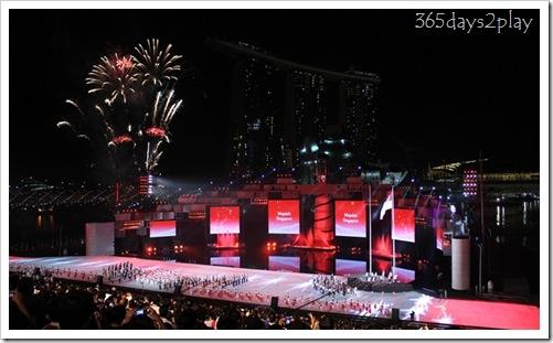 YOG Opening Ceremony - Fireworks