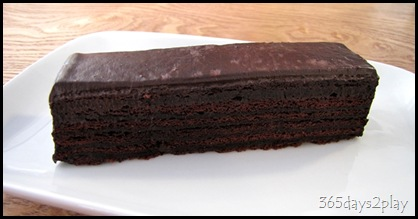 Awfully Chocolate chocolate cake