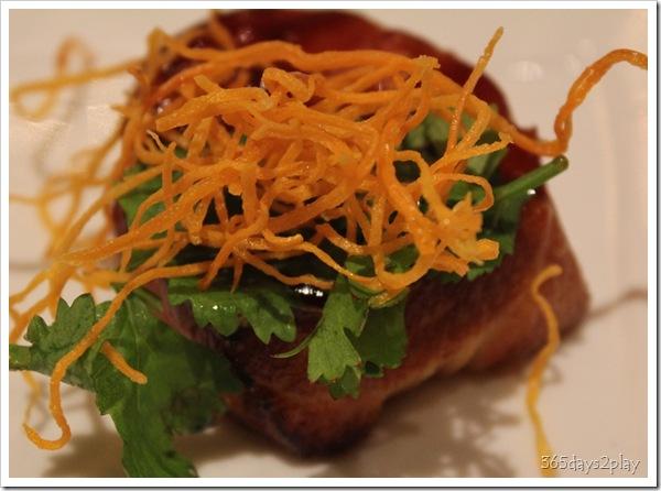 Mandarin Oriental - Fillet of Cod