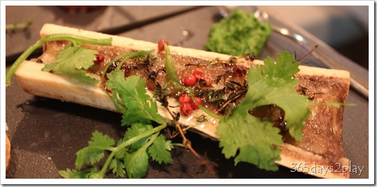 The Disgruntled Chef - Baked Bone Marrow with Persillade