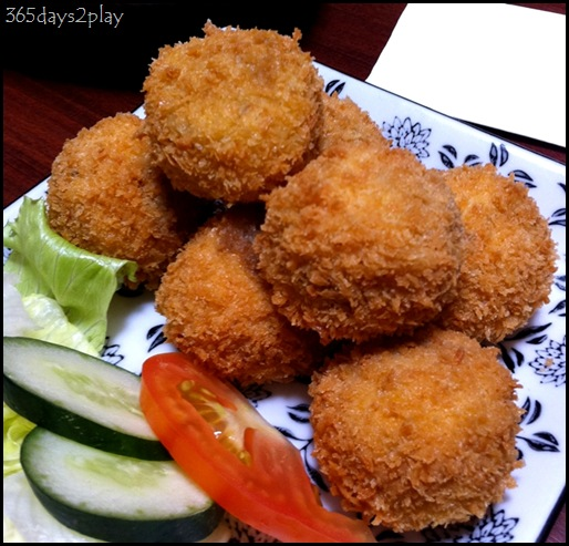 Curry Favour - Mushroom Balls
