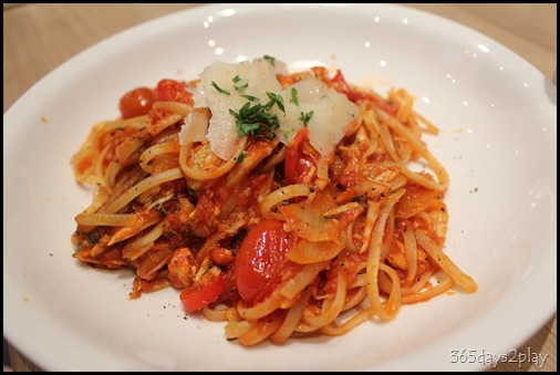 Double Bay - Crabmeat Linguine
