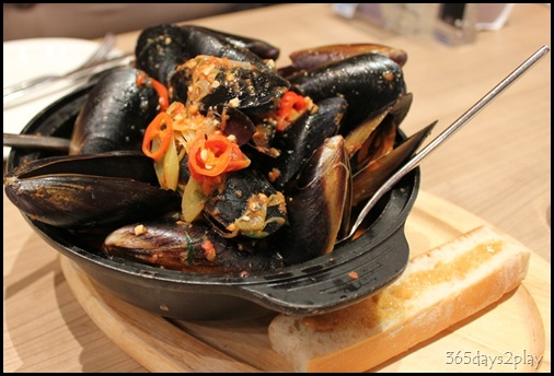 Double Bay -  Mussels in Tomato Broth