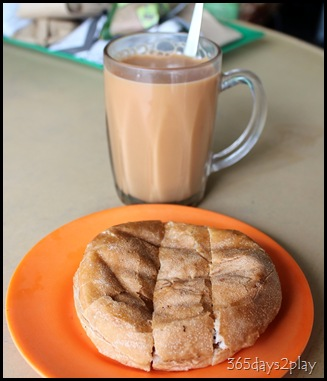 Kluang Railway Station - Kaya Toast