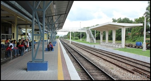Kluang Railway Station - Railway  Tracks (3)