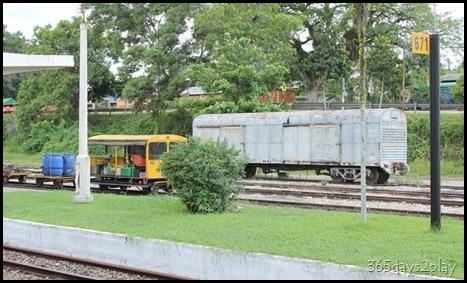 Kluang Railway Station - Railway  Tracks