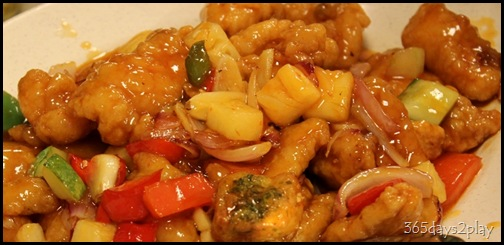 Zenxin Lunch - Sweet and sour fish