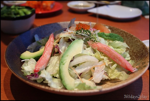 Bedok Point Sushi Tei Crabstick and Avocado Salad