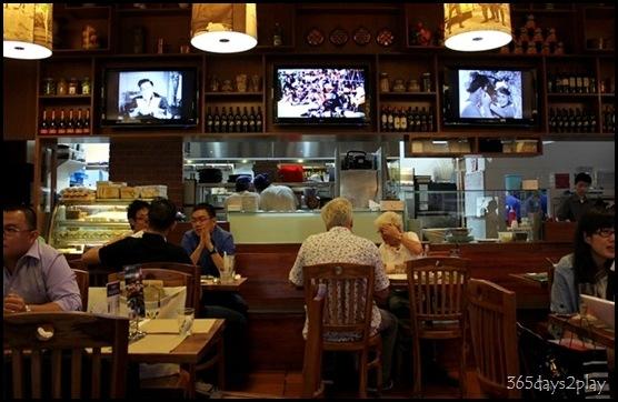 Trattoria Cucina Italiana Seating Area